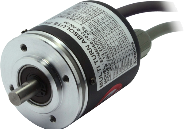 Low cost absolute multi-turn rotary encoder EPM50: Pewatron